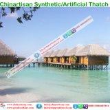 Uv-bescherming Vuurvaste  Synthetic Met stro bedek de Paraplu van de Zon Beatch