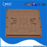 BMC Composite 20tons Square Manhole Cover mit Handle