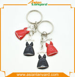 Metal personalizado Keychain da forma do logotipo