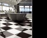 600X600m m, 800X800m m, Super White y Black Flooring Tiles, Polished Porcelain Floor Tile, Double Loading Tile, Ceramic Wall Tiles