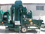 もみすり機が付いているムギのシードのクリーニング機械シードの洗剤