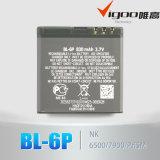 Батарея мобильного телефона изготавливания Bl-6p Китая высокого качества