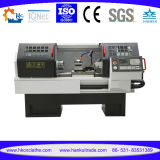 Tipo torno horizontal Cknc6136A de la cama plana de la maquinaria del CNC del CNC