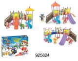 教育プラスチックおもちゃ、ブロックのおもちゃ、セットされる犬公園(925824)