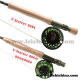 Pesca Rod superiore della mosca del carbonio della SK