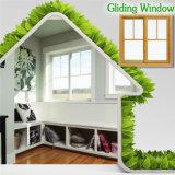 Электрический разъем ослепляет окно, дешевое деревянное алюминиевое вертикальное сползая окно Китаем Windows и поставщика дверей