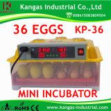 Établissement d'incubation complètement automatique d'incubateur d'oeufs de couvabilité élevée mini à vendre
