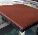 Pavimentação de borracha colorida de borracha ao ar livre da telha de revestimento do revestimento de borracha fireresistant