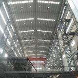 Пожаробезопасная светлая стальная мастерская здания