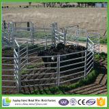 Скотный двор горячего DIP Австралии 6 рельсов гальванизированный