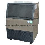 máquina de hielo integrada del cubo 80kgs para la transformación de los alimentos