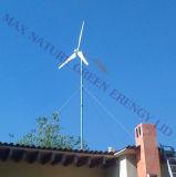 Micro sistema Mouted della generazione di energia eolica sulla parte superiore del tetto per la casa