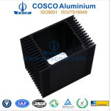 Het aangepaste Profiel van het Aluminium voor Heatsink met het Zwarte Anodiseren