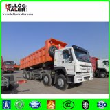 정면 상승 Sino 트럭 8 x 4 팁 주는 사람 덤프 트럭 구조차 트럭