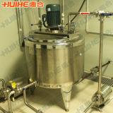 Réservoir émulsionnant de crême d'acier inoxydable et de mélange à grande vitesse glacé sanitaire
