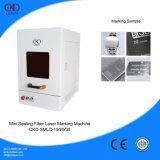 Mini laser Machine de Sealing Housing Marking com Automatic Door 20W 30W