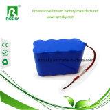 блок батарей Li-иона Icr18650 14.8V 2200mAh с разъемом