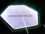 Visualización de LED ultra fina cristalina del montaje de la pared de los anuncios de los media que hace publicidad del rectángulo ligero