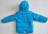 Rivestimento dei bambini con il cappuccio per l'abbigliamento dei bambini