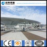 Costruzione d'acciaio della tettoia del tetto della stazione di Struture di buon disegno