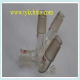 Instrumento de cristal hechas por el vidrio de borosilicato con esmerilado