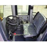 Le logarithme naturel de machines de sylviculture attaquent le chargeur de la roue 1ton-5ton avec de grands pneus