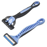 Nueva Triple hojas de afeitar caliente en el mercado africano Compite con Lord