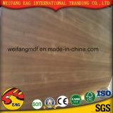 E0/E1/E2 madeira compensada natural da fantasia do Teak de 2.2mm a de 20mm para a mobília