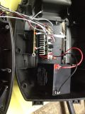 Q7 vendedor caliente de la carretilla de la batería del altavoz