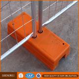 Cerca provisória removível revestida do PVC da alta segurança de Anping