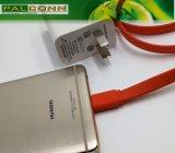 Cable de carga rápida para el compañero 9, Mate9 PRO P9, P10, etc. Régimen de corriente ~ 3A Max. Proporcionar servicio de OEM / ODM