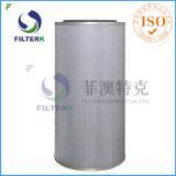 Filterk a plissé le filtre à air de fibre de verre de coton