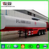 Fabricante de China 45000 litros de petróleo del combustible de acoplado del petrolero