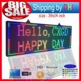 Étalage de message de signe de défilement de DEL /P10 RVB polychrome DEL extérieure annonçant l'étalage