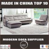 Sofá de couro moderno do lazer da sala de visitas quente da venda