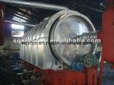 Pianta di riciclaggio dell'olio della gomma tramite Distillation Way 10tpd