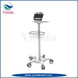 Chariot de moniteur de patient hospitalisé avec des chasses