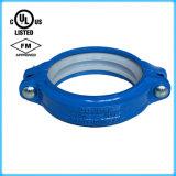 Couplage rigide Grooved de fer malléable (165.1) FM/UL reconnu