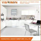 A cozinha modular em forma de L projeta o gabinete de cozinha pequeno