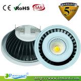 Lumière du plafonnier d'endroit de l'ÉPI GU10 G53 d'Edison 12W AR111