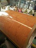 Лист китайской фабрики деревянный Coated Prepainted стальной