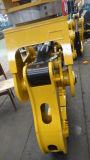 Het Logboek van het graafwerktuig grijpt Graafwerktuig vast de Houten Spleet vastgrijpt