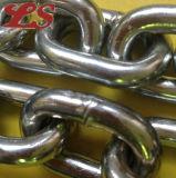 Encadenamiento de conexión galvanizado del hierro corto DIN766