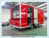 De Aanhangwagen van de concessie, Mobiele Keuken, de Aanhangwagen van de Vertoning van de Catering Onsite