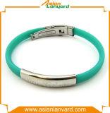 Förderndes buntes wasserdichtes Silikon-Armband