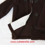 형식 Windproof Casual Fluffy Fleece Hoodied Jacket, Kids를 위한 Coat
