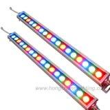 свет мытья стены 18PCS напольный RGBW СИД (HC-604A)