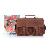 유럽식 고품질 Handmade 진짜 가죽 어깨에 매는 가방 핸드백