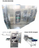 Завершите автоматическую машину упаковки прессформы дуновения напитка фруктового сока заполняя разливая по бутылкам