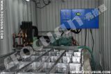 Wasserfischerei Industry Cooling 5mt/Day Containerized Brine System Ice Block Machine
